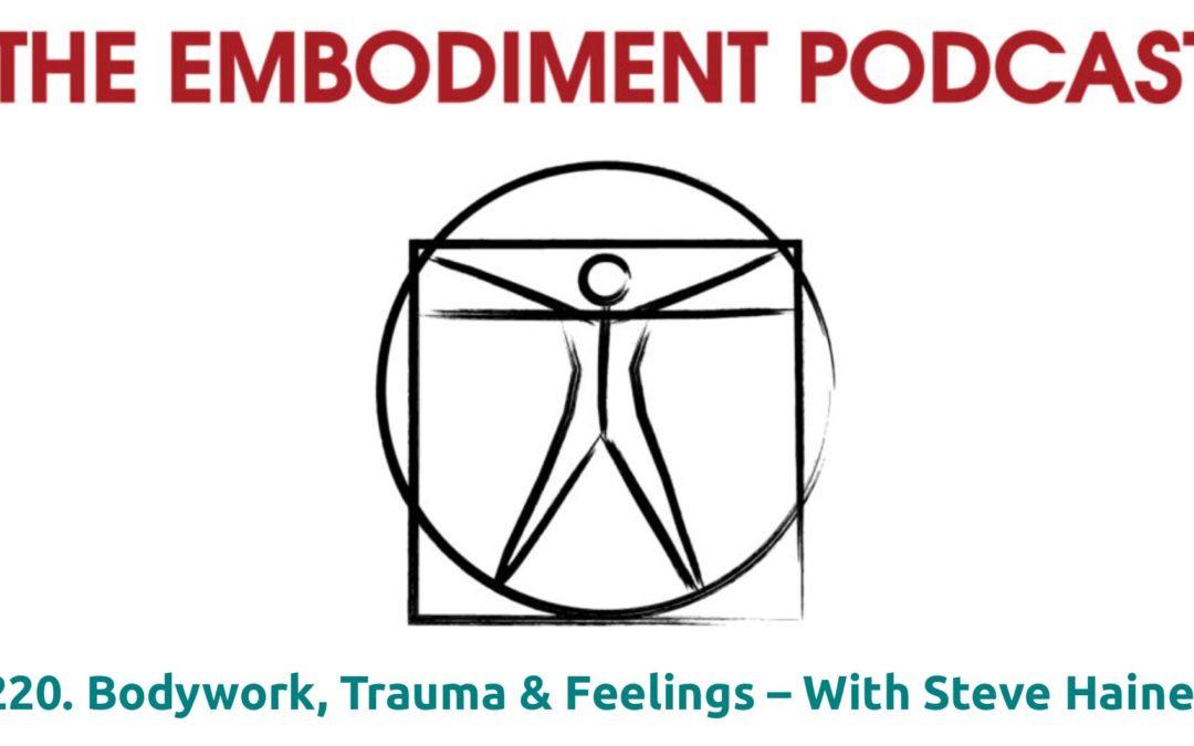 Embodiment Podcast – Steve Haines on Bodywork, Trauma and Feelings, Dec 2019