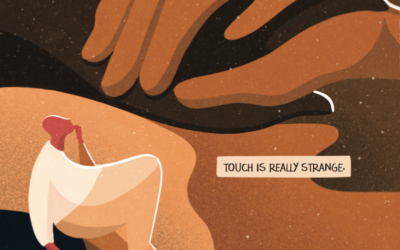 How does touch work, and why is it such a powerful tool to support health?
